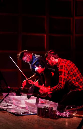 Imaginary Percussion Ensemble . Za . photo by ?