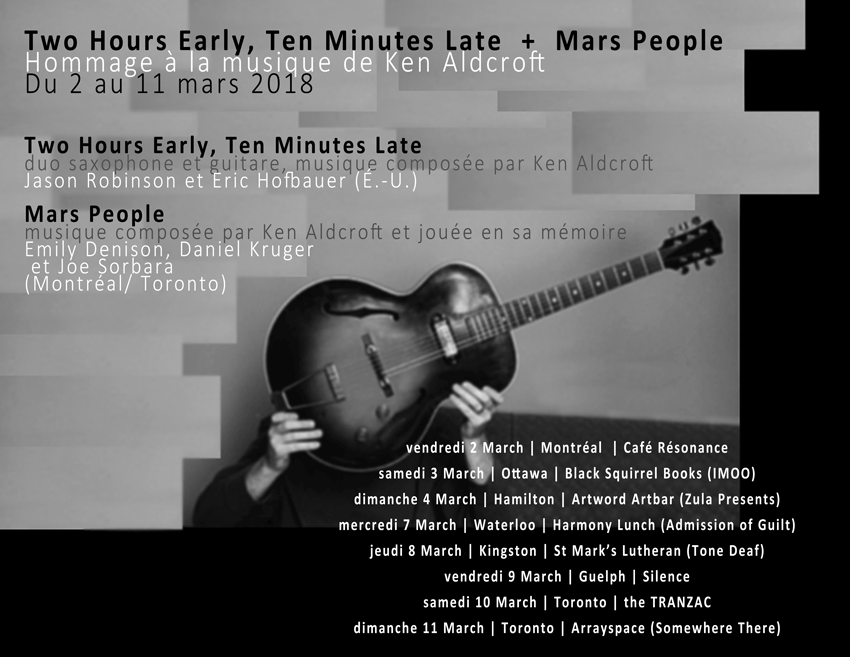 Two Hours Early, Ten Minutes Late + Mars People :: mars 2018